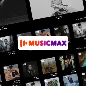 طراحی سایت موزیک مکس
